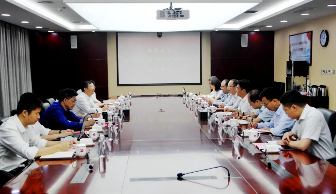 裴振江会见三峡建工乐鱼体育官网下载党委书记、董事长王世平一行